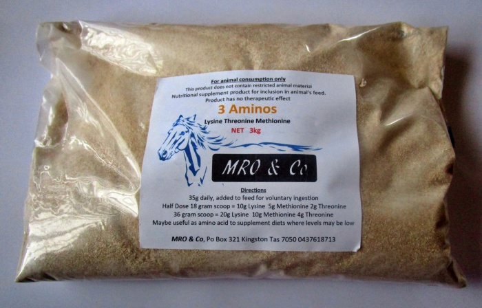 3 Aminos contains Methionine Threonine Lysine 1kg - Click Image to Close