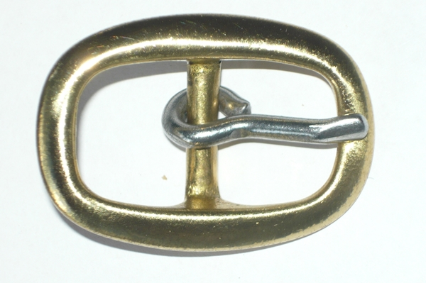 Brass buckle 19mm Swage